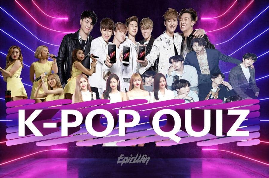 banner for k-pop quiz