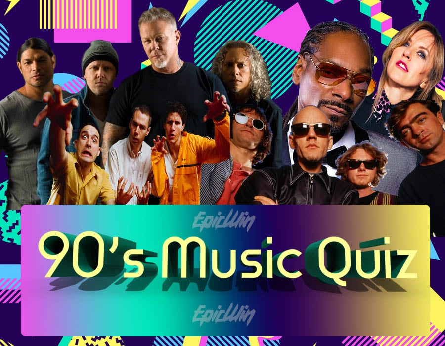 the best 90s music quiz