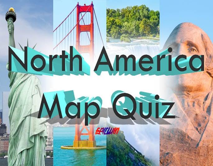 north america map quiz