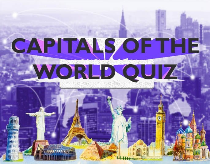 capitals of the world quiz banner