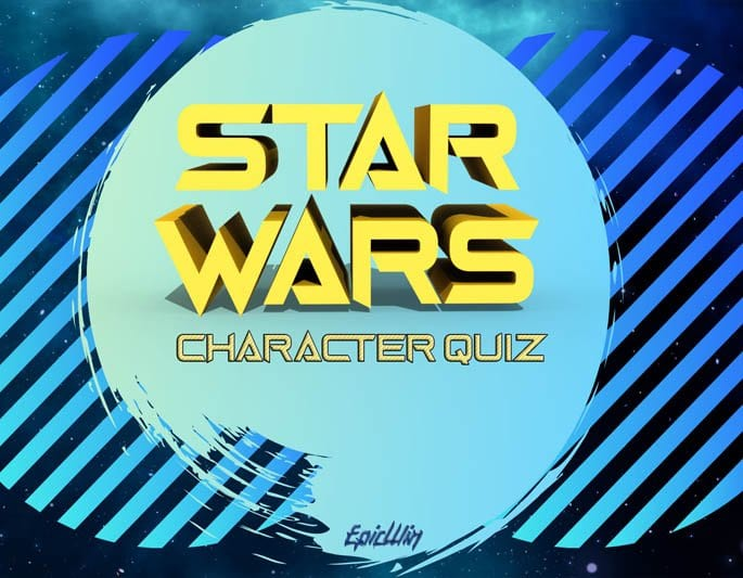 STARWARS CHARACTER QUIZ FOR EPIC WIN