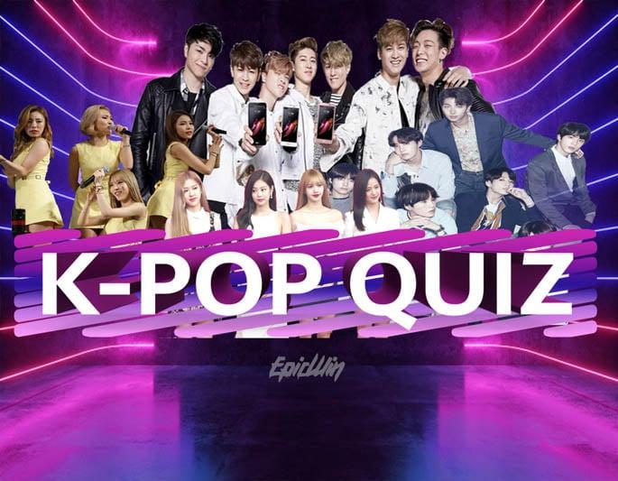we made a kpop quiz