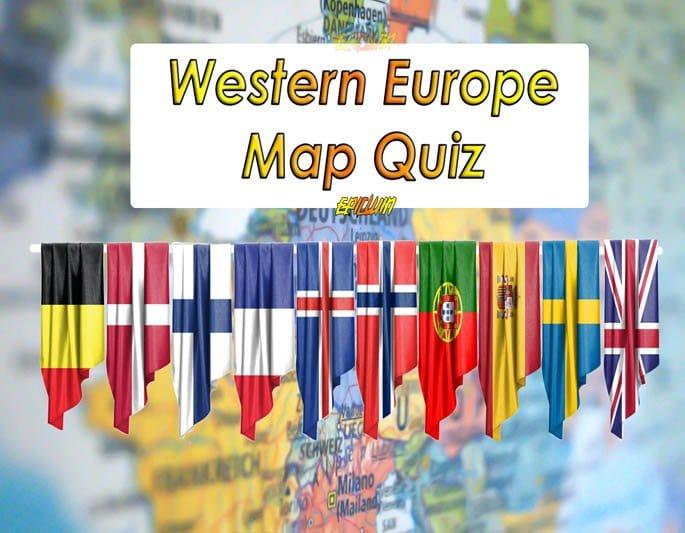 western europe map quiz banner