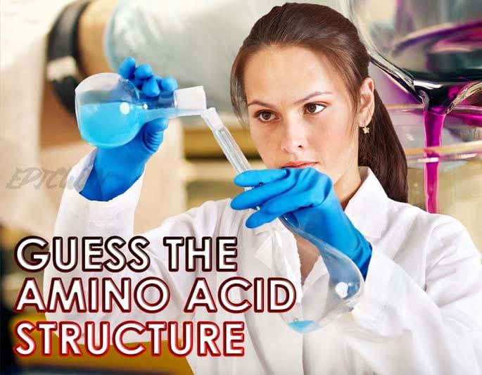image of scientist | Amino acid Quiz structure for 2020