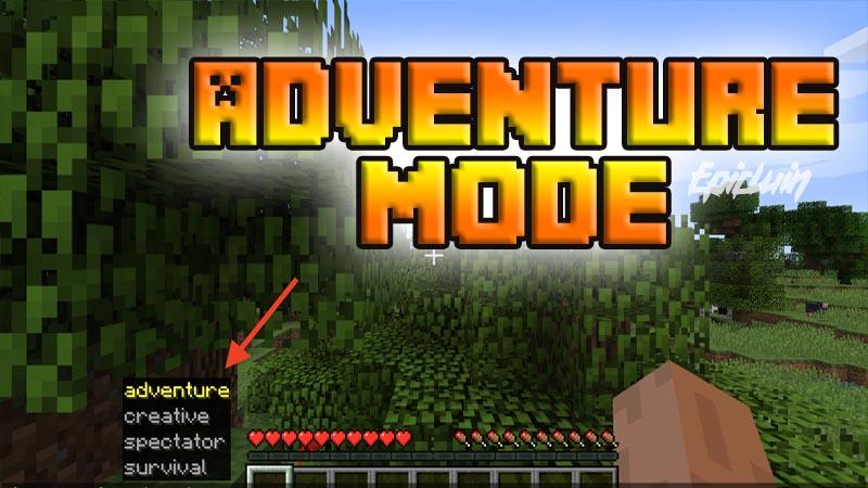 adventure mode minecraft