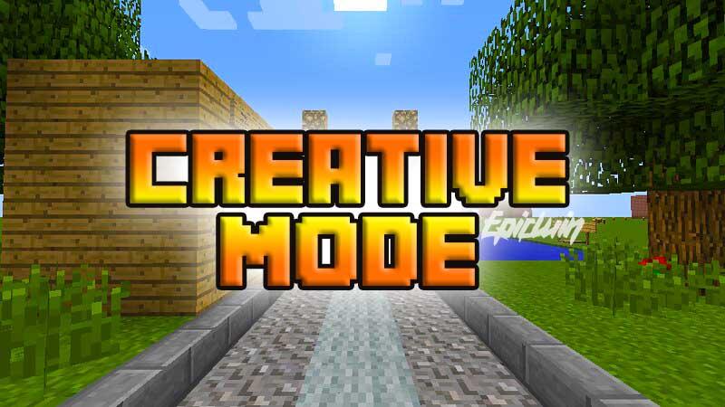 minecraft creative mode