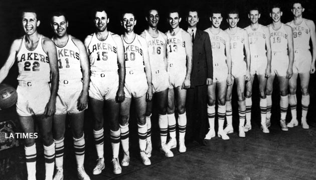OLD LAKERS TEAM