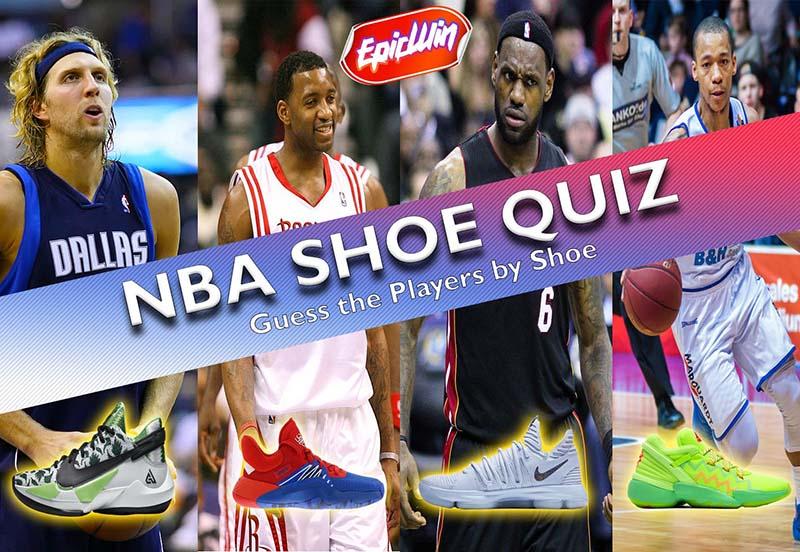 NBA SHOE QUIZ