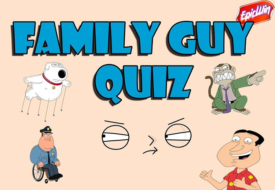family guy quiz