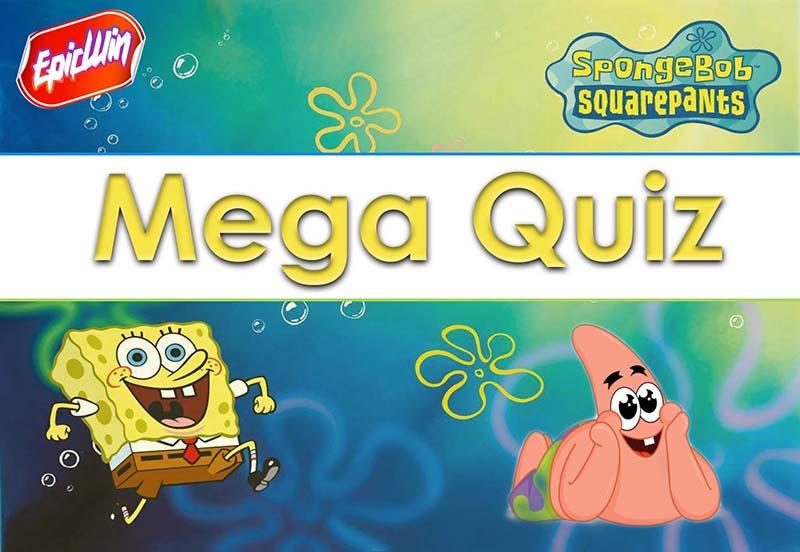 spongebob quiz
